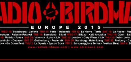 Da mercoledì RADIO BIRDMAN in Italia