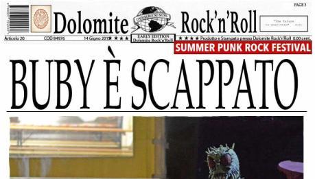 Tempi di ringraziamenti per la Dolomite RnR e il suo Summer Punk Rock Festival 2015