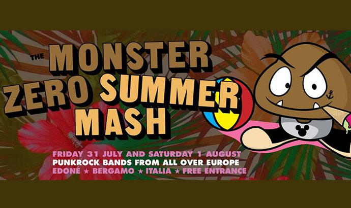 MONSTER ZERO SUMMER MASH all'Edoné di Bergamo