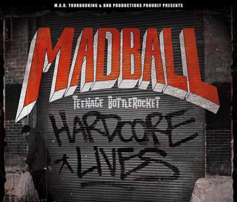 MADBALL e TEENAGE BOTTLEROCKET insieme a Milano a inizio agosto