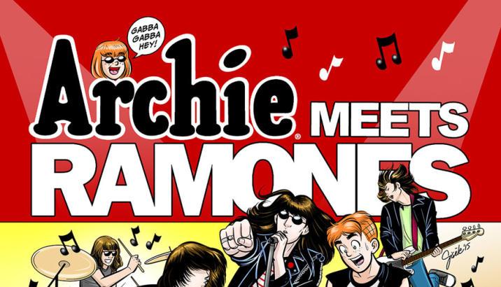 Archie Comics presenta: Archie meets Ramones!