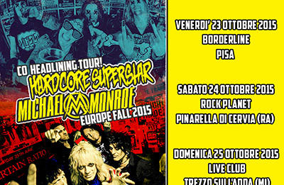 Hardcore Superstar + Michael Monroe = Il concerto dell'anno