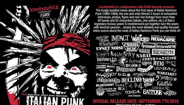 Italian Punk Hardcore 80-89, il film!!!!