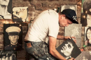 Jesse Mosher (NYC Live Action Painting) – Video Interview @CSOA Leoncavallo – Milano