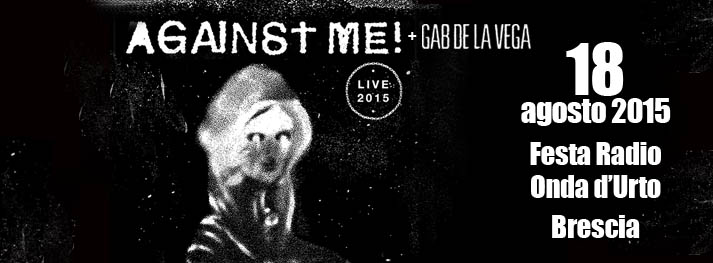Tornano gli AGAINST ME!