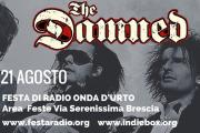 THE DAMNED: unica data italiana a Brescia