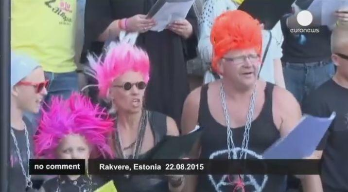 Festival del punk ..che tristezza…