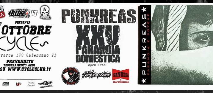PUNKREAS XXV Paranoia Domestica Tour