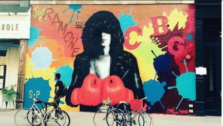 Nuovo murales dedicato a Joey Ramone!