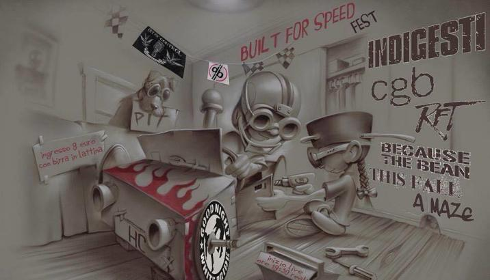 BUILT FOR SPEED FEST (Aggiornamento)