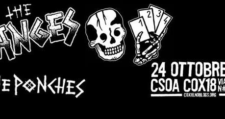 The Manges + The Ponches, Cox 18, Milano, 24-10-2015
