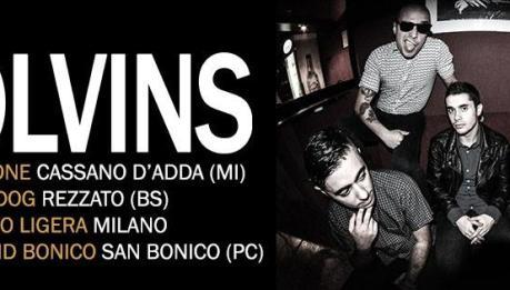 THE COLVINS: 4 date al nord per la punk-rock band sarda