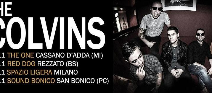 THE COLVINS: 4 date al nord per la punk-rock band sarda