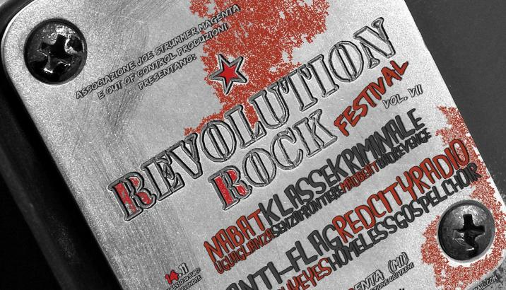 The original REVOLUTION ROCK FESTIVAL!!! VII edizione