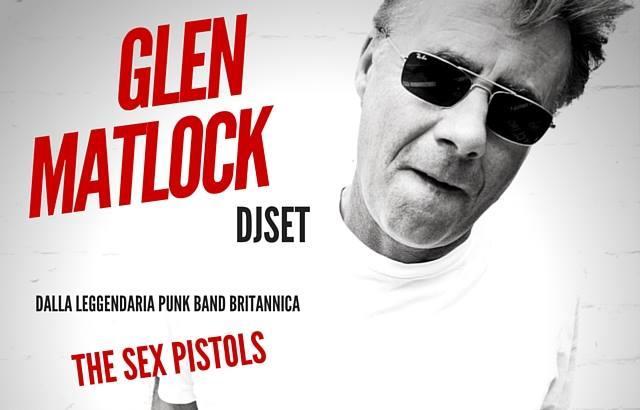 Domani DJ set di Glen Matlock ad Alessandria