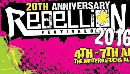 REBELLION FESTIVAL 2016: la line up