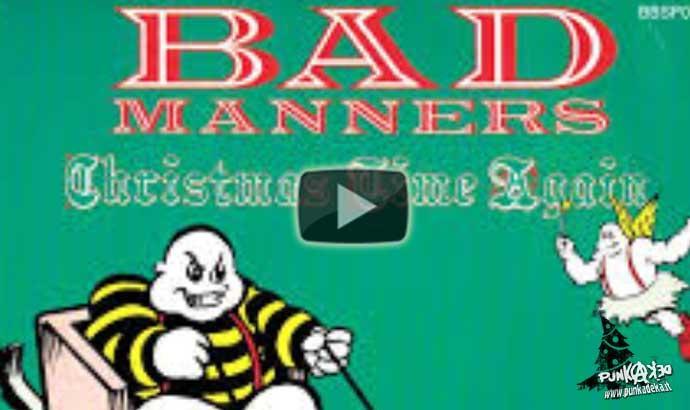 BAD MANNERS: It's Christmas Time Again – Calendario avvento Natale punk #6