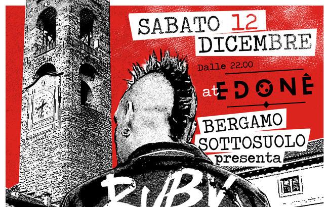 RUBY SO(HO)TTOSUOLO: Tributo ai Rancid e non solo sabato a Bergamo