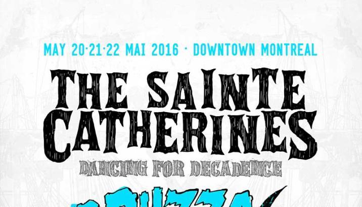 The Sainte Catherines ritornano con Dancing For Decadence al Pouzza Fest 2016