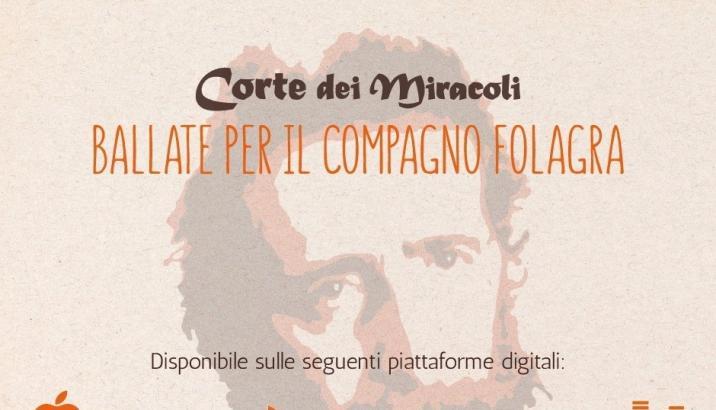 On line il primo disco della CORTE DEI MIRACOLI