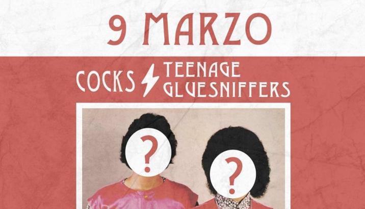 "COCKS/TEENAGE GLUESNIFFERS: ""El?"" fuori il 9 marzo"