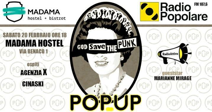 PopUp di Radio popolare parla di Punk