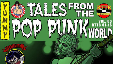 Nuova compilation per la squadra di Ramone To The Bone: Tales From The Pop Punk World Vol. 3!
