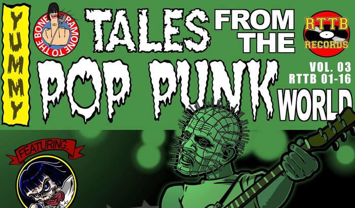 Nuova compilation per la squadra di Ramone To The Bone: Tales From The Pop Punk World Vol. 3!