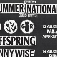 Punk Rock Summer Nations con OFFSPRING, PENNYWISE e GOOD RIDDANCE a Milano e Rimini