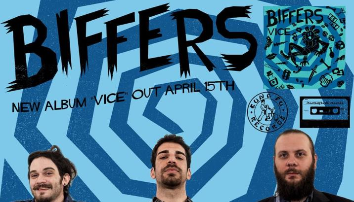 BIFFERS: nuovo album ad aprile fori per Kung Fu Records