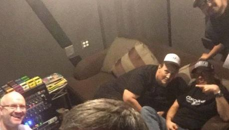 CJ Ramone in studio!
