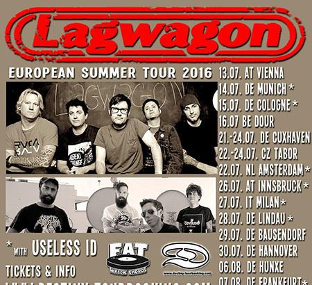 Lagwagon in Europa con Useless ID!