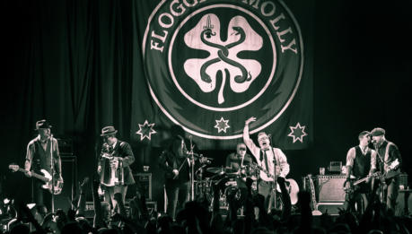 Andrea Rock Trio apre per i FLOGGING MOLLY