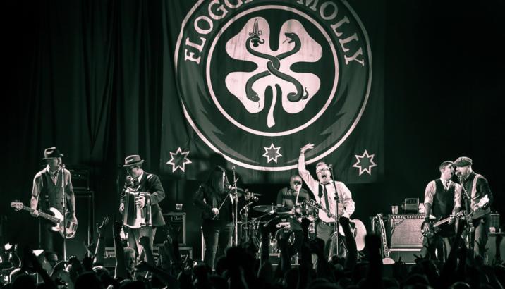 Andrea Rock Trio apre per i FLOGGING MOLLY