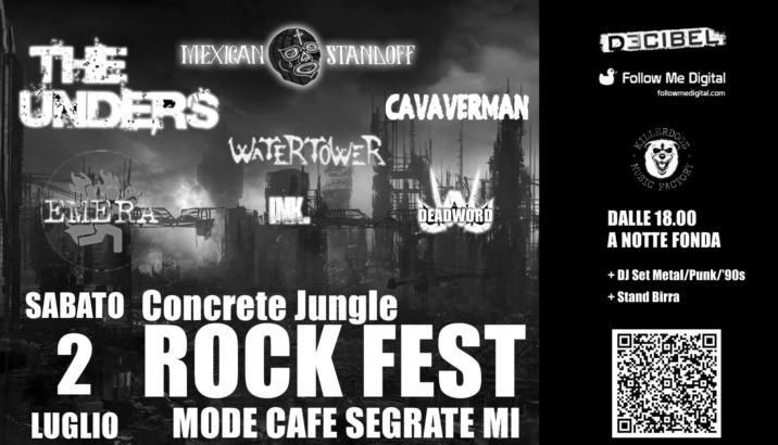 Arriva il Concrete Jungle Rock Fest