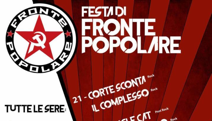 PRIMA FESTA DI FRONTE POPOLARE (Vizzolo Predabissi, MI, 21-24 luglio)