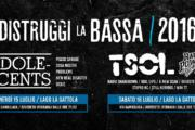 DISTRUGGI LA BASSA 2016: prima parte con ADOLESCENTS, T.S.O.L., RAW POWER e tanti altri
