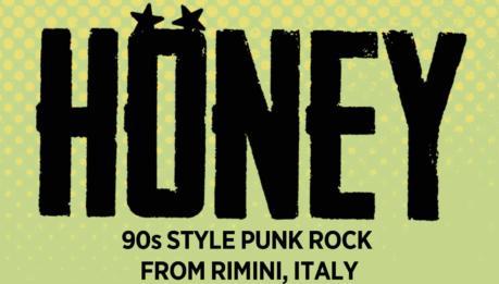 HONEY: nuovo Ep e cd in uscita per Striped Records e Ammonia Records