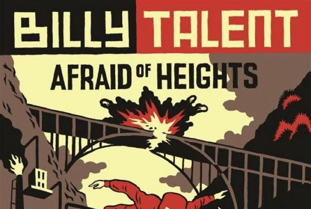 "Billy Talent: video per il brano ""Afraid Of Heights""!"