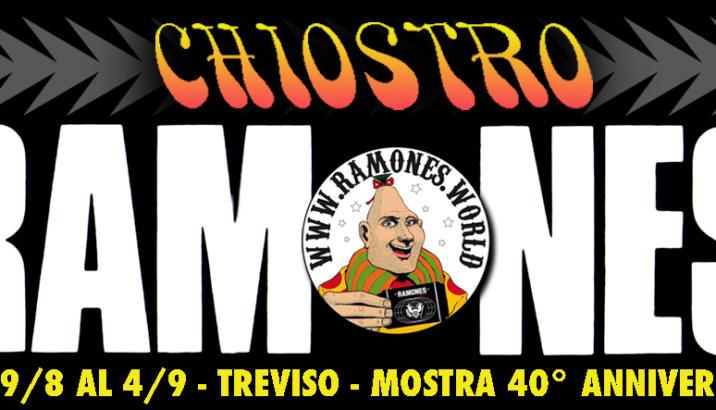 RAMONES in mostra a Treviso fino al 4 settembre