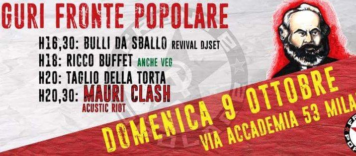 Festa di Fronte Popolare (Milano, 9 ottobre)