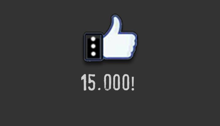 15000 like.. grazie ancora!
