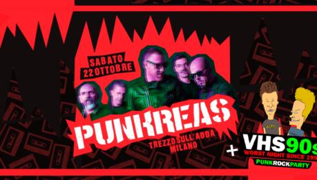 Punkreas al Live di Trezzo