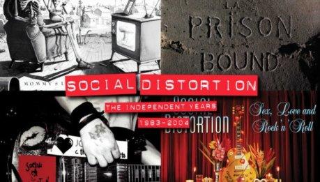 Box set per i SOCIAL DISTORTION