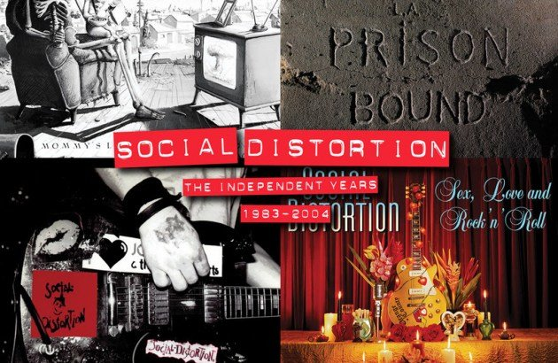 Box set per i SOCIAL DISTORTION
