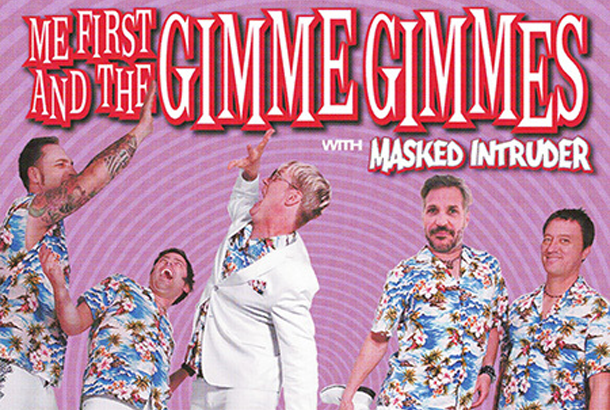 Me First And The Gimme Gimmes + Masked Intruder in Europa nel 2017!