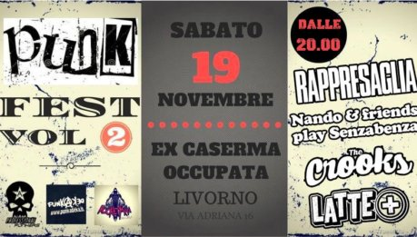 Nuovo appuntamento con il FEST PUNK ROCK GENERATIONS VOL 2