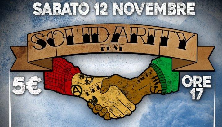 SOLIDARITY FEST (Roma, 12/11/16) – ATTENZIONE: PULLMAN DA MILANO