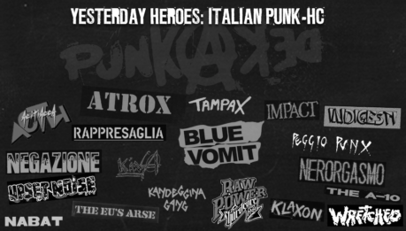 Yesterday Heroes speciale Italian Punk Hc Band