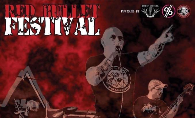 RED BULLET FESTIVAL al Decibel (Magenta, 19/11/16)